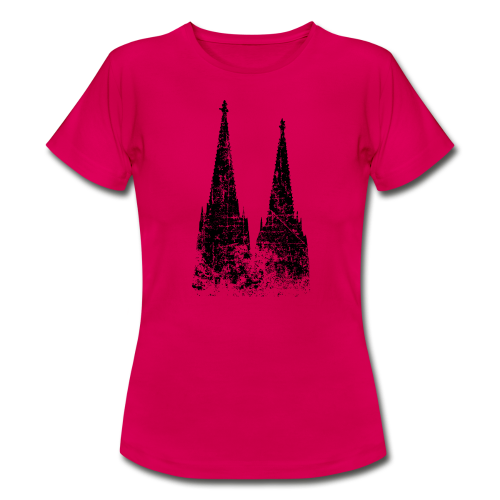 Kölner Dom (Vintage) Köln T-Shirt - Frauen T-Shirt