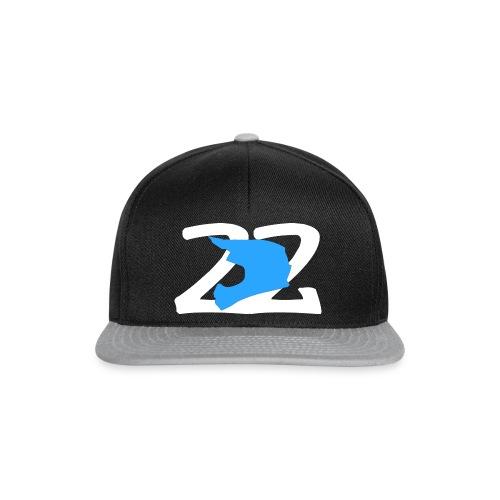 22 Blau - Snapback Cap