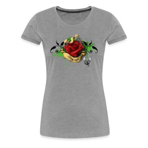 T-shirt Rose M-A - T-shirt Premium Femme