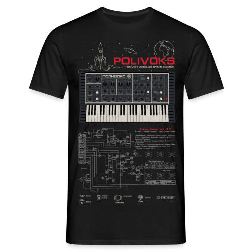 Polivoks Space - Men's T-Shirt