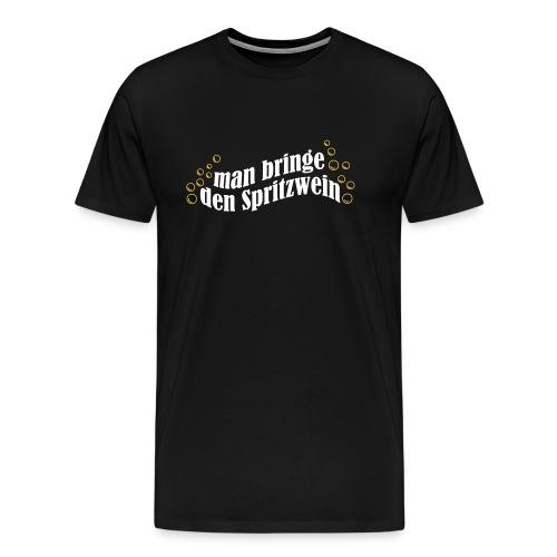 Spritzwein - Männer Premium T-Shirt