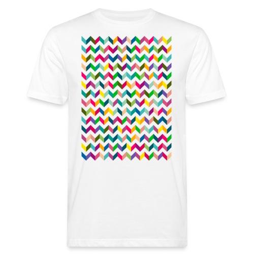 friecks ZICKZACK - Männer Bio-T-Shirt