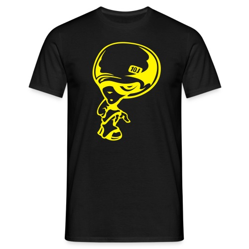T-SHIRT TOM-SNOW Noir-Jaune - T-shirt Homme