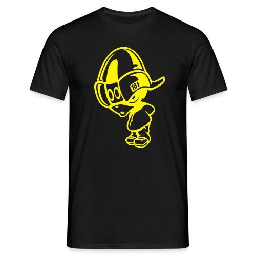 T-SHIRT JIM-STREET Noir-Jaune - T-shirt Homme