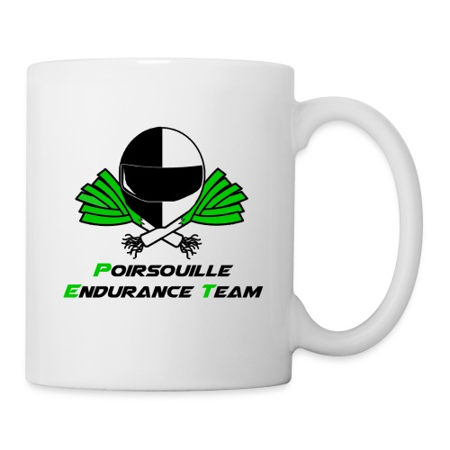 Mug Poirsouille Endurance Team - Mug blanc