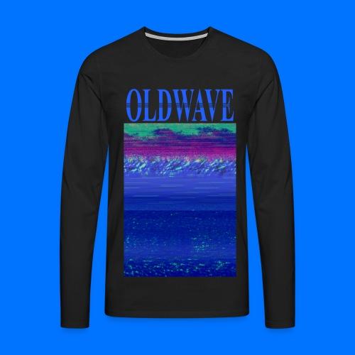 OLDWAVE Ocean View Long-sleeve - Men's Premium Longsleeve Shirt