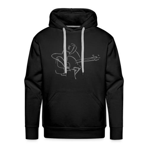 full size guitar - Männer Premium Hoodie