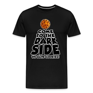Dark Side Cookie Men's T-Shirt - Men's Premium T-Shirt