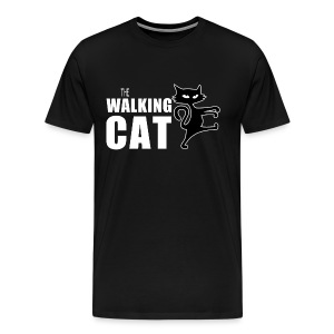 The Walking Cat - Herren T-Shirt - Männer Premium T-Shirt