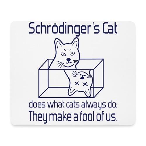 Schrödingers Katze Mousepad - Mousepad (Querformat)