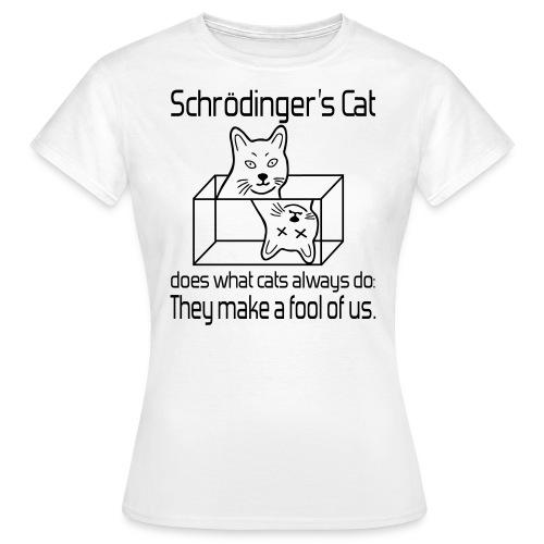 Schrödingers Katze Frauen T-Shirt - Frauen T-Shirt