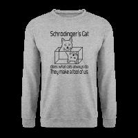 Schrödingers Katze Männer Pullover