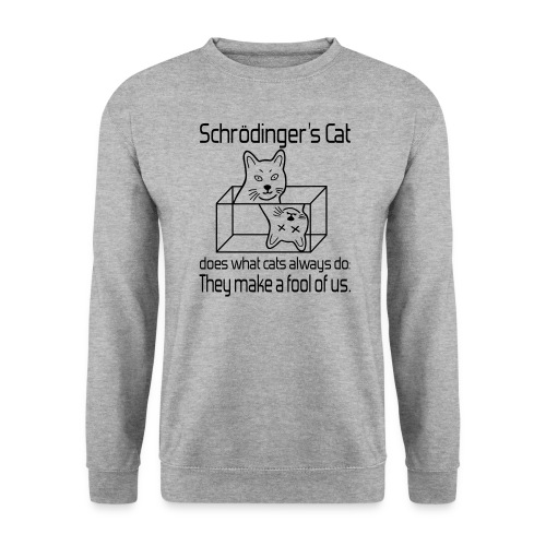 Schrödingers Katze Männer Pullover - Männer Pullover