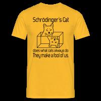 Schrödingers Katze Männer T-Shirt