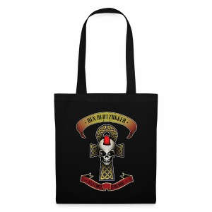 Canvas Tote Bag (Analog Blood) - Stoffbeutel