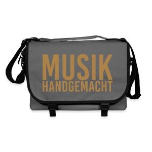 Musik handgemacht (Tasche) braun - Umhängetasche