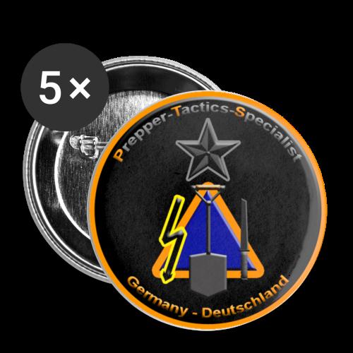 Buttons Prepper Tactics Spezialist - Buttons klein 25 mm