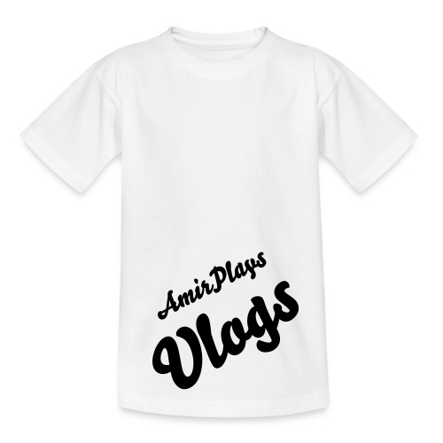 EXCLUSIVE AMIRPLAYSVLOGS TEE - Teenage T-Shirt