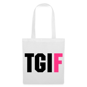 Thanks God It's Friday rose - Tote Bag