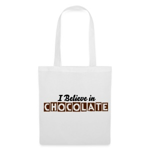 I Believe in Chocolate - Tote Bag