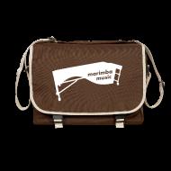 Taschen & Rucksäcke ~ Umhängetasche ~ Marimba Music (weiß) Umhängetasche