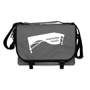 Marimba Music (weiß) Umhängetasche - Umhängetasche