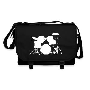 Drumset 1 (weiß) Umhängetasche - Umhängetasche