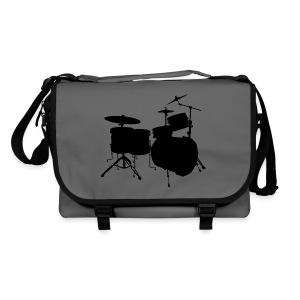 Drumset 2 (schwarz) Umhängetasche - Umhängetasche