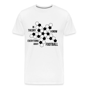 Everything about football - Männer Premium T-Shirt