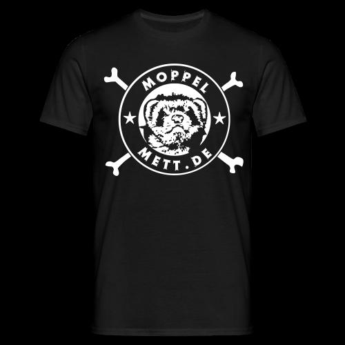 T-Shirt, schwarz #hupenhilft - Männer T-Shirt