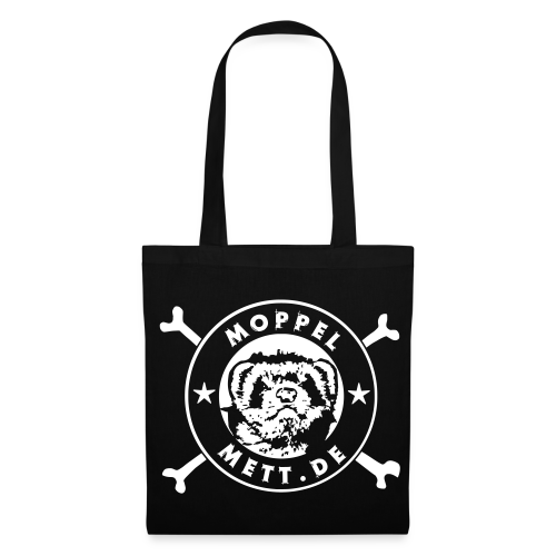 Hipster-Stoffbeutel, Logo - Stoffbeutel