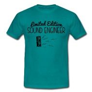 Tee shirts ~ Tee shirt Homme ~ HP - Sound Engineer LE