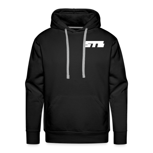 STB plane logo volwassen hoodie - Mannen Premium hoodie