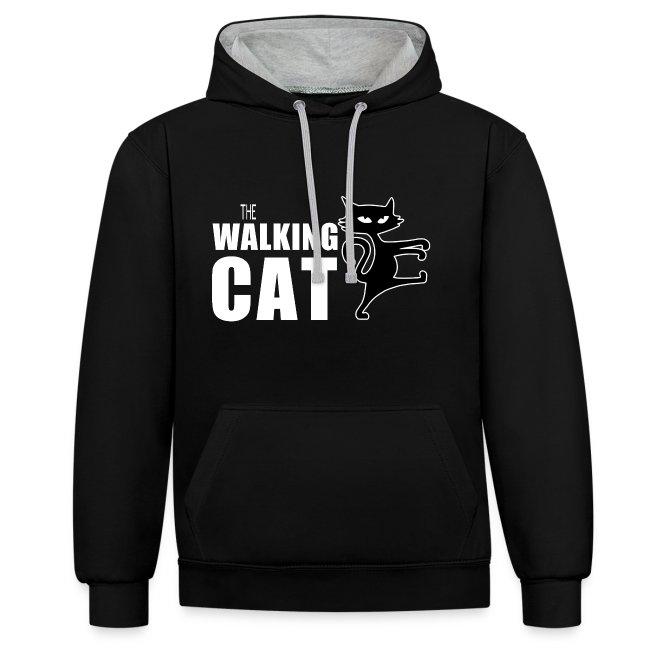 The Walking Cat - Kuscheliger warme Herren-Hoodie