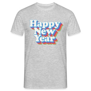Happy New Year Vintage - T-shirt Homme
