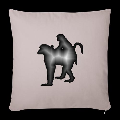 Housse de coussin décorative 44 x 44 cm Baboons - Housse de coussin décorative 44x 44cm