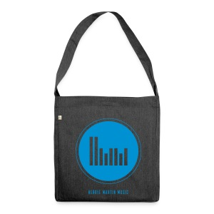 Herbie Martin Music Schultertasche - Shoulder Bag made from recycled material