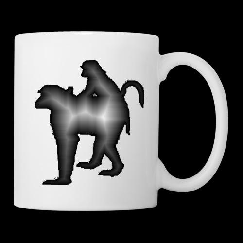 Mug Baboons - Mug blanc