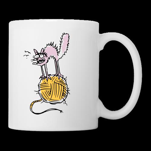 Pinky, die Nacktkatze - Tasse