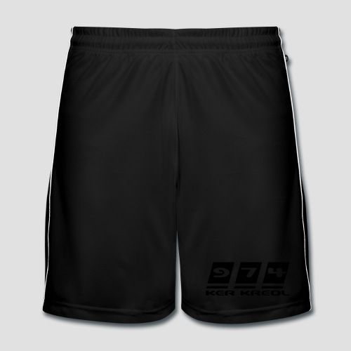 Short de football Homme 974 Ker Kreol - Short de football Homme