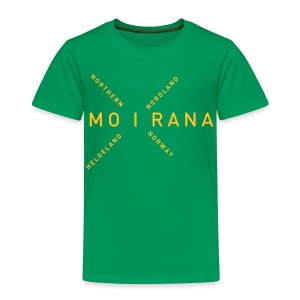 Mo i Rana - Northern Norway - Premium T-skjorte for barn