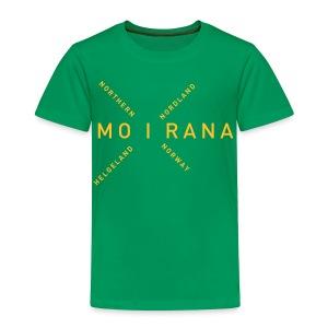 Mo i Rana - Northern Norway - Premium T-skjorte for barn