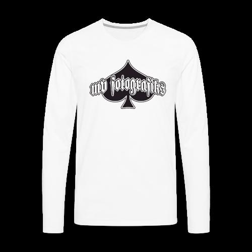 Pitkähihainen MVF t-paita - Miesten premium pitkähihainen t-paita