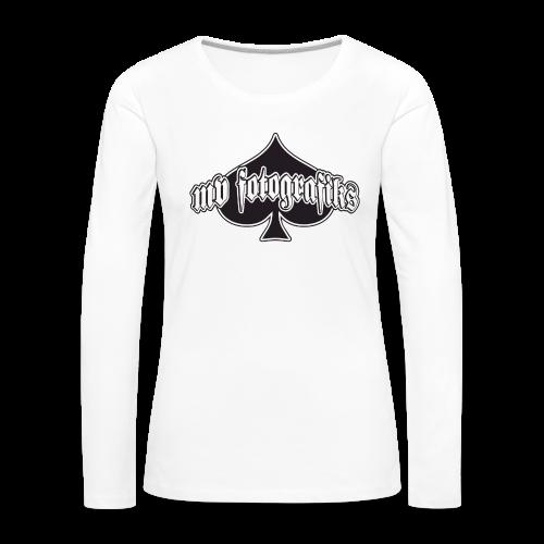 Naisten pitkähihainen t-paita - Naisten premium pitkähihainen t-paita