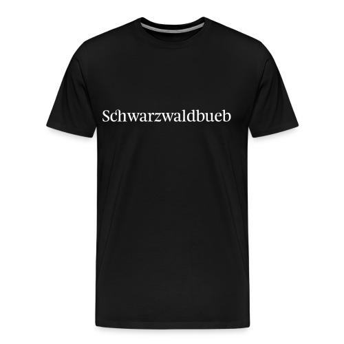 Schwarzwaldbueb - schwarz - Männer Premium T-Shirt