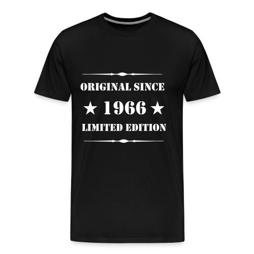 Premium Shirt mit Aufdruck, 1966 Limited Edition - Männer Premium T-Shirt