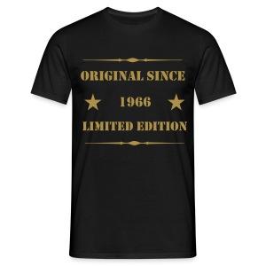 Shirt mit Gold-Glitzer-Aufdruck, 1966 Limited Edition - Männer T-Shirt