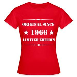 Girls Shirt mit Aufdruck, 1966 Limited Edition - Frauen T-Shirt