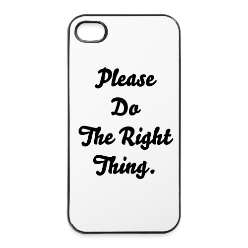 IPhone 4/4s Premium Case (PDTRT) - iPhone 4/4s Hard Case