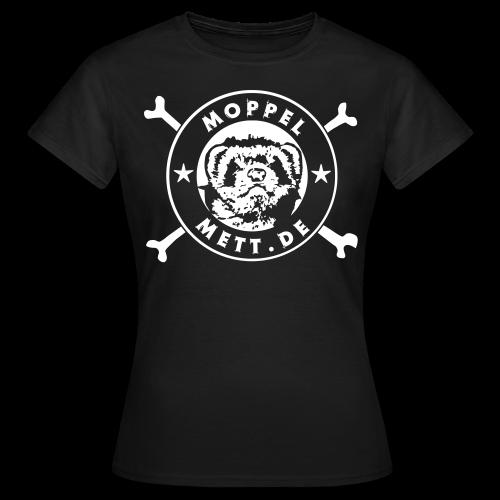 Girlie, schwarz #hupenhilft - Frauen T-Shirt